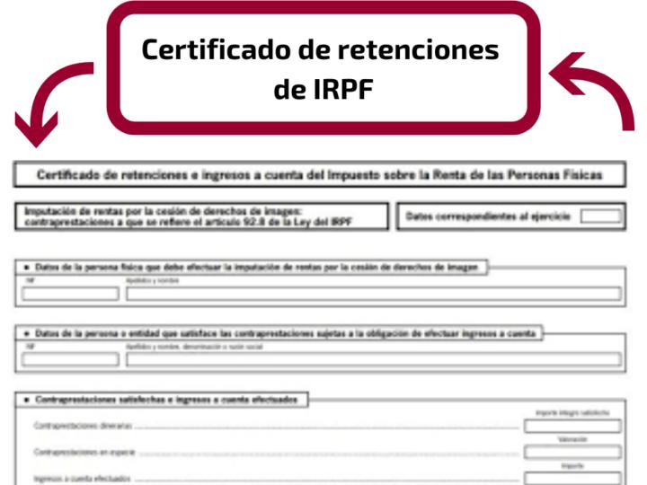 ¿Es obligatorio entregar el certificado de retenciones o ingresos a cuenta?