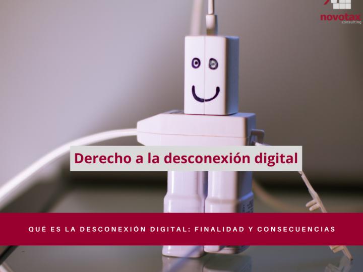 Derecho a la desconexión digital.