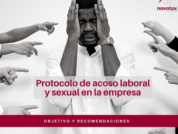 El protocolo de acoso laboral y sexual en las empresas