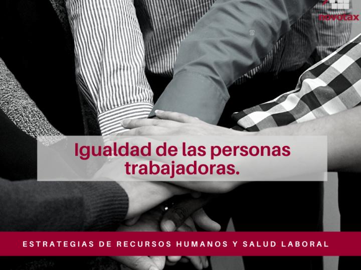 Estrategias de Recursos Humanos en materia de igualdad
